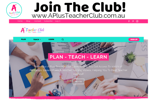 Join the A Plus Teacher Club Membership Website