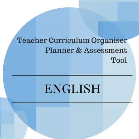 Y1 Teacher Organiser, Planner & Assessment Tool - ENGLISH
