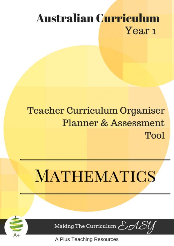 Year 1 Curriculum Organiser Maths