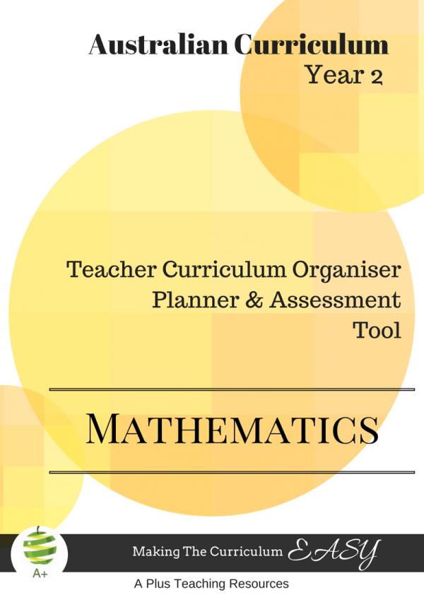 Teacher Curriculum Organiser Year 2 Maths