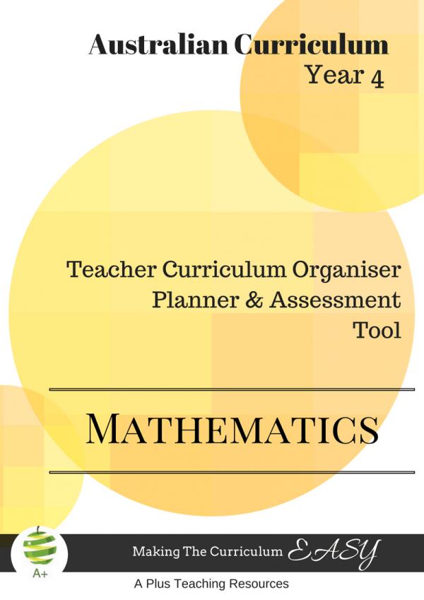 Teacher Curriculum Organiser Year 4 Maths