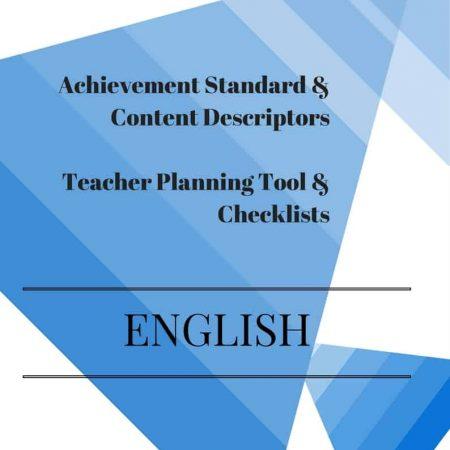 Foundation Editable English Checklists