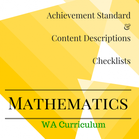 Year 6 WA Checklists