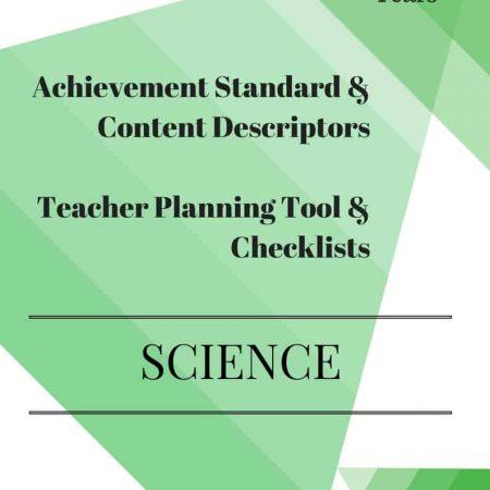 Foundation Editable Science Checklists