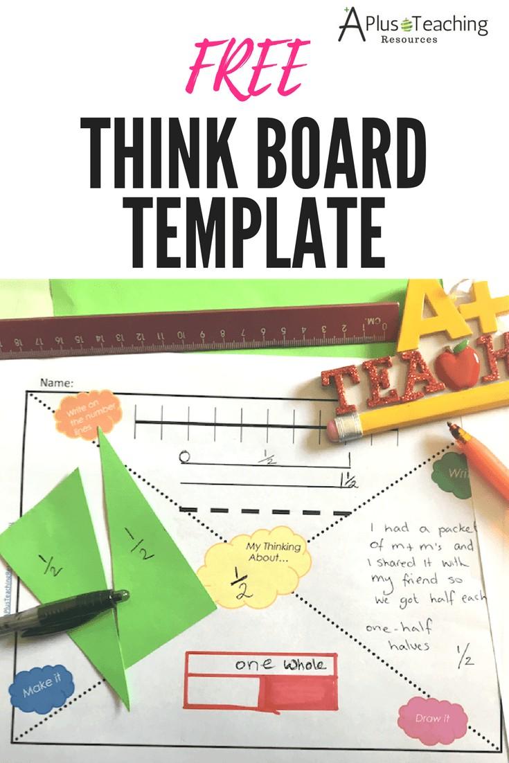 Think Board Printable