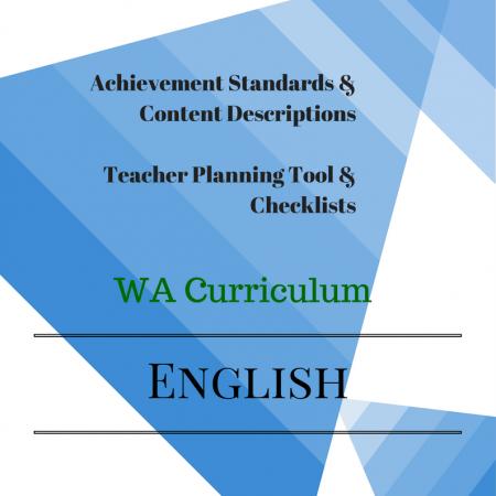 English Checklists WA Year 3