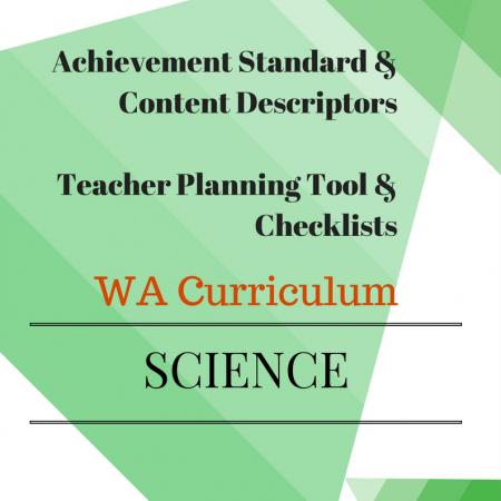 Year 2 Science Checklists WA