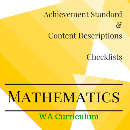Year 2 WA Maths Checklists
