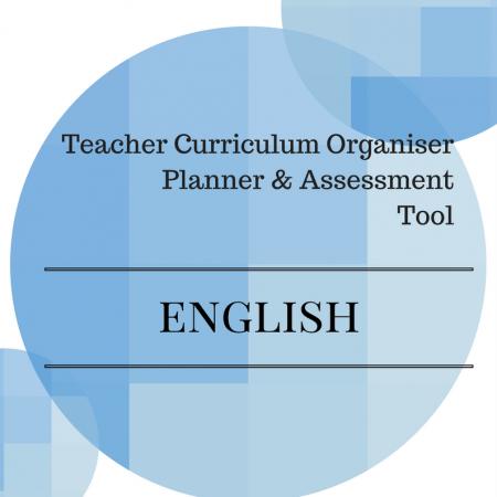 Y2 Teacher Organiser, Planner & Assessment Tool - ENGLISH
