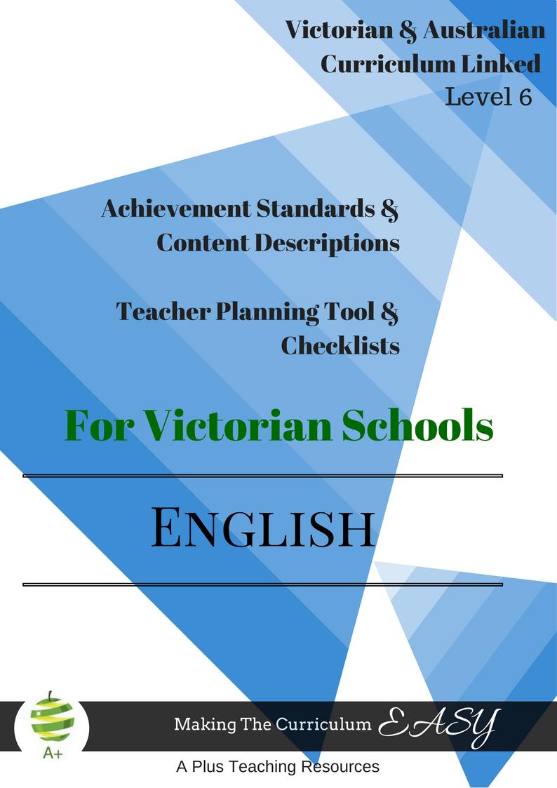 Victorian Curriculum English