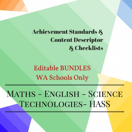 WA - Editable Bundles -Y5
