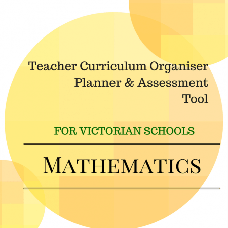 Level 1 VICC Math Organiser