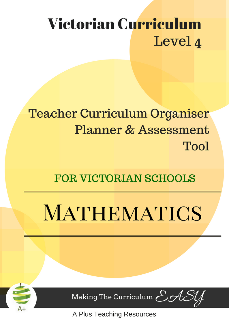 Victorian Curriculum Level 4 Maths