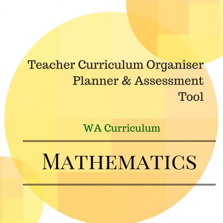 WA Math Organiser Y1