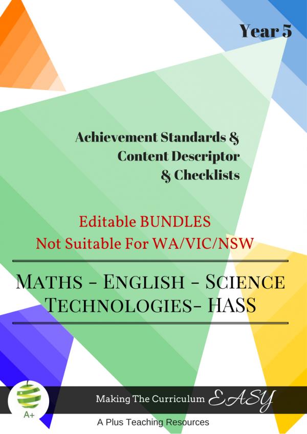 ALL States- Editable Bundles -Y5
