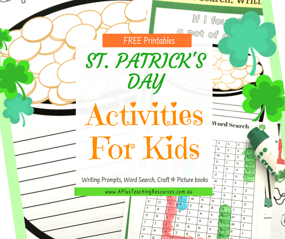 St Patricks Day Printables For Kids