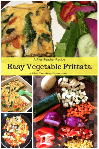 East Vegetable Frittata