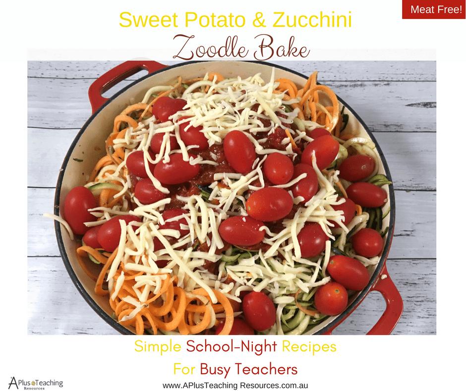 Ready To Serve Sweet Potato & Zucchini Zoodles