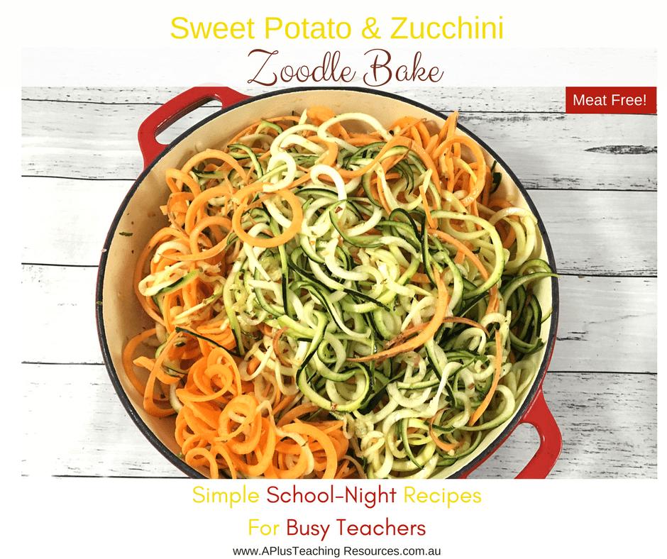 Zucchini Zoodle Noodles Recipe