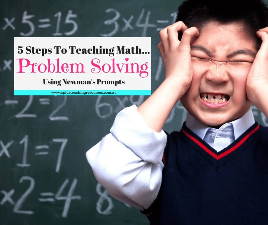 Teaching Math Problem Solving