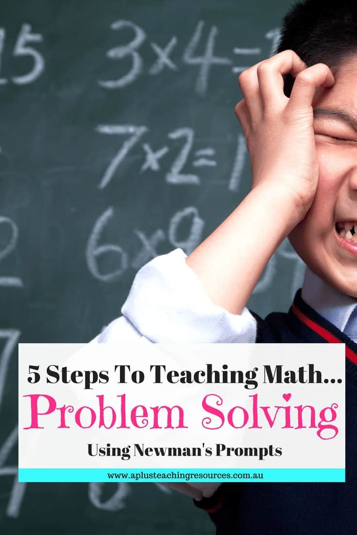 5 Steps For Successful Problem Solving Using Newman's Prompts