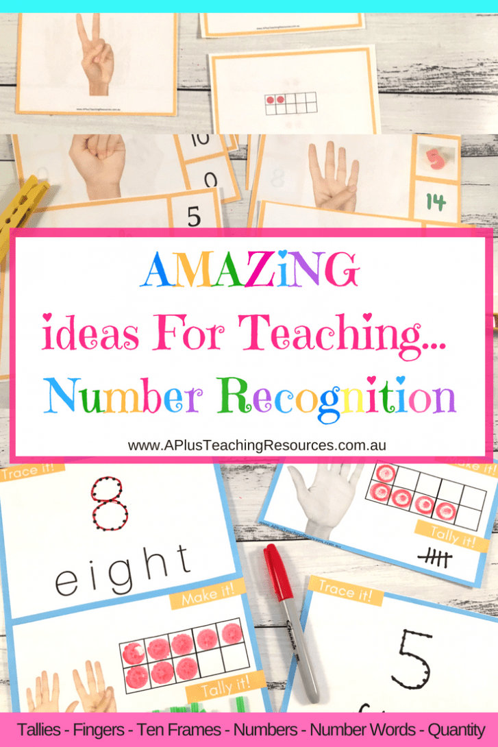 Teaching Number Recognition Activities 0-10