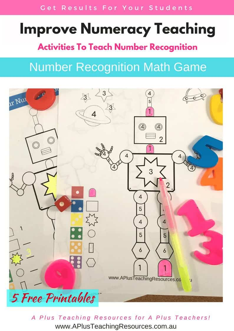 Robot Colouring Math Game