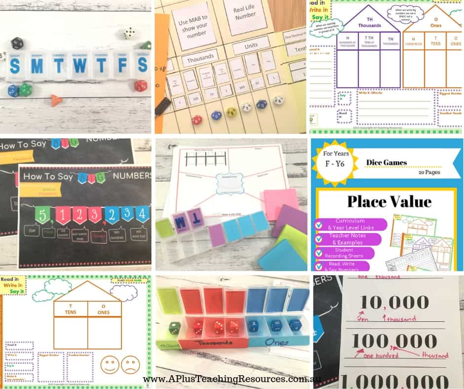 Place Value Activities for kids