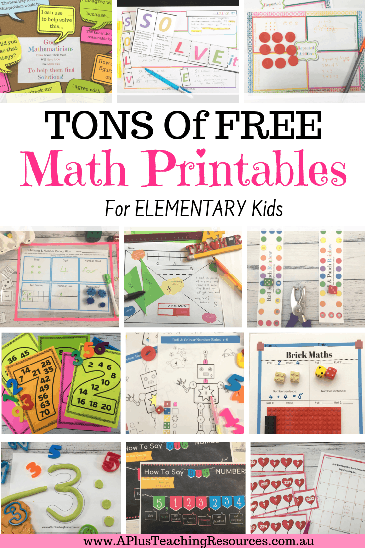 free teacher worksheets and printables to download