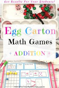 Egg Carton Addition Ideas
