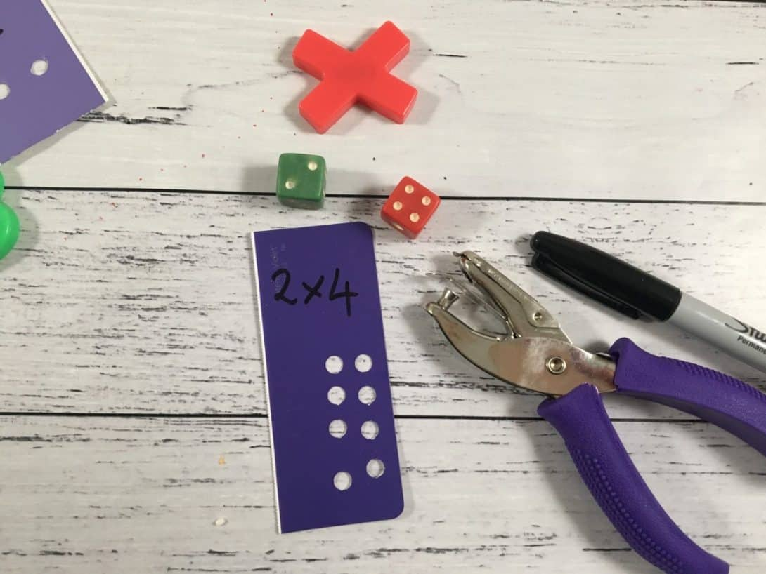 fine motor hole punch and arrays