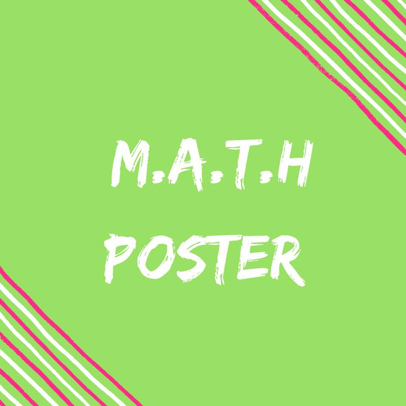 FREE Math Poster