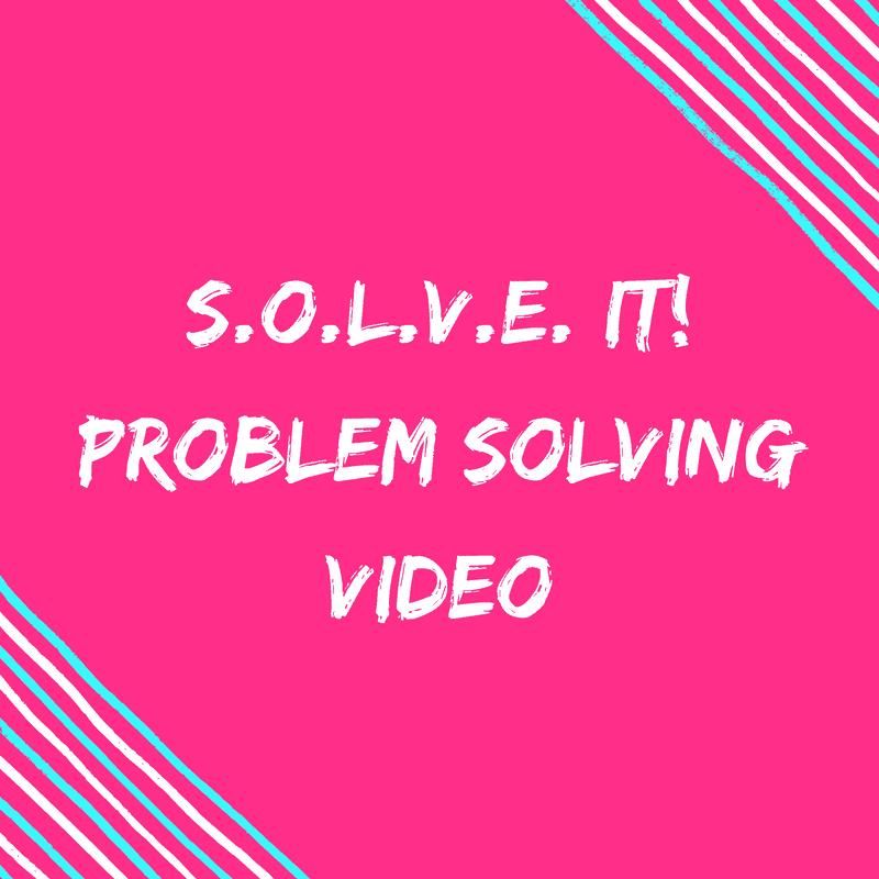 Solve it Problem Solving