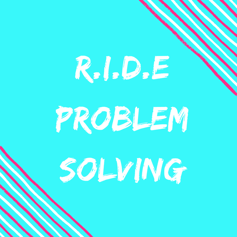 Ride Problem Solving