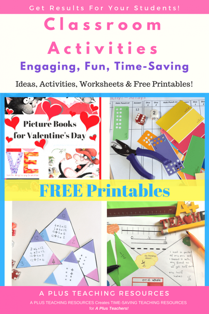 FREE Teacher Work sheets and Printables