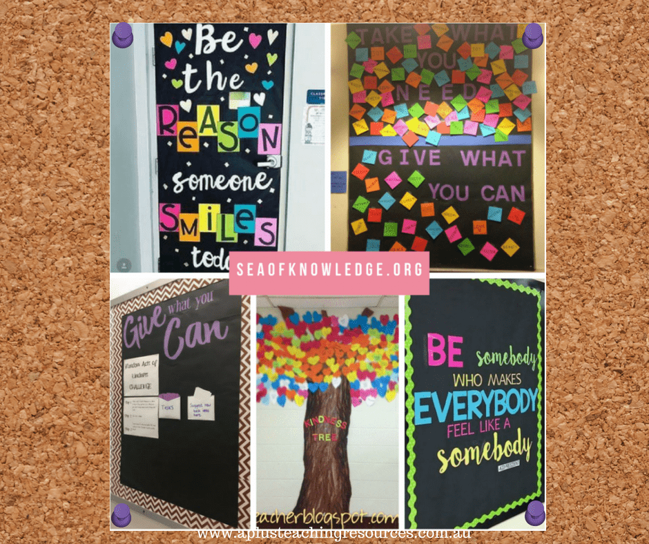 Kindness Bulletin Boards