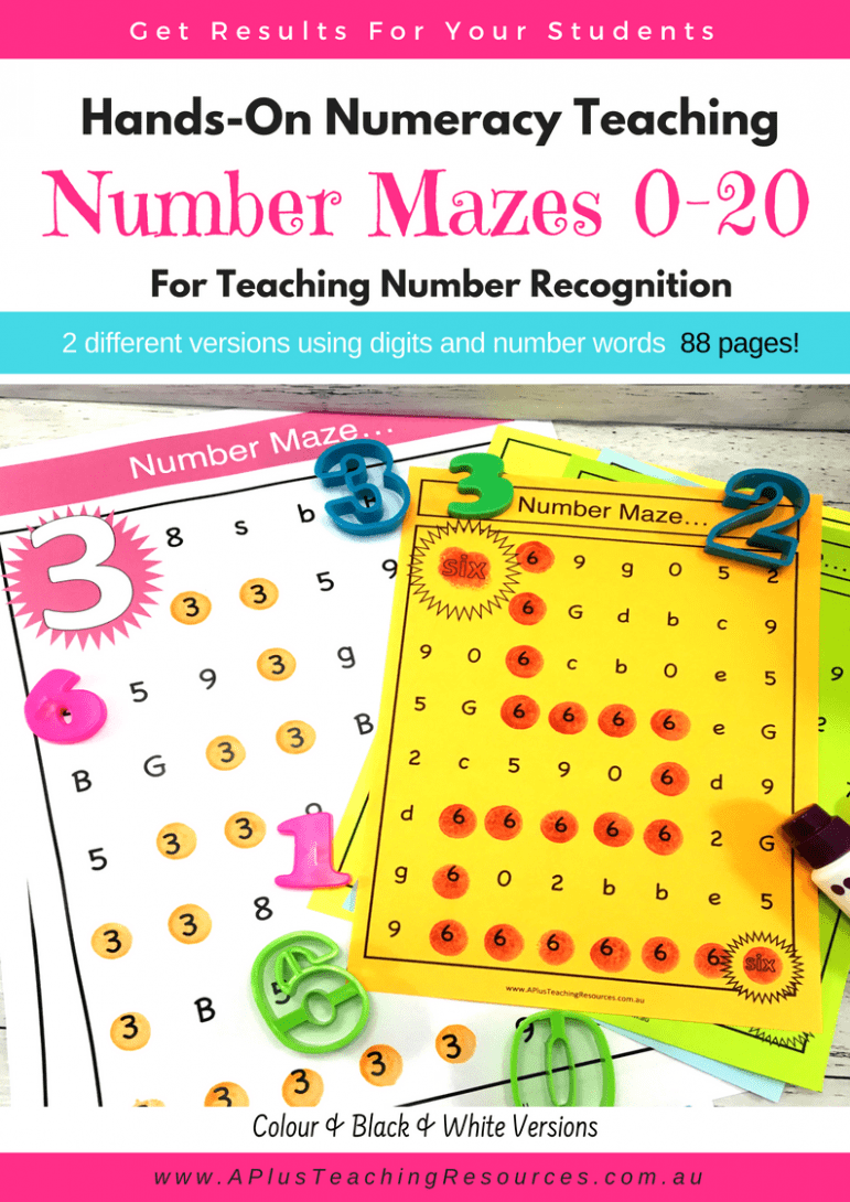 Number mazes Games Pack