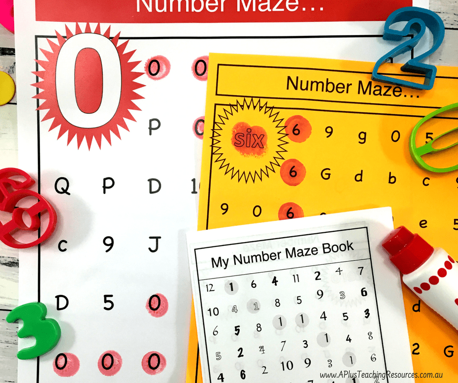 Number Mazes Pack