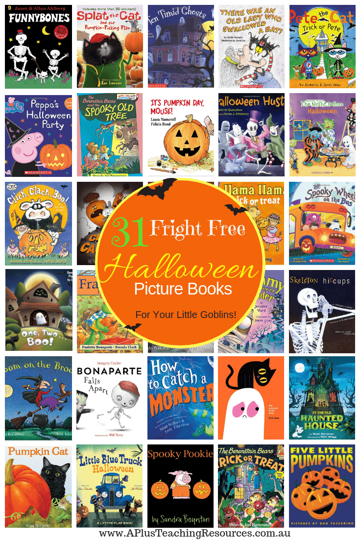 31 Halloween Picture Books