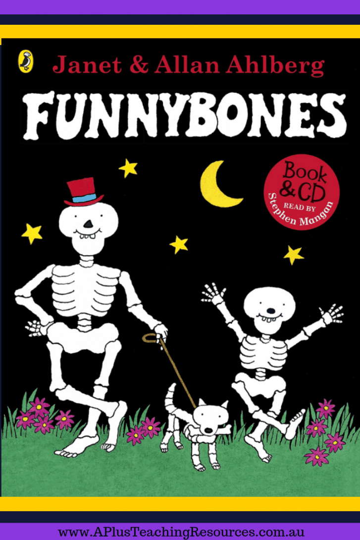 Funnybones Halloween Picture book