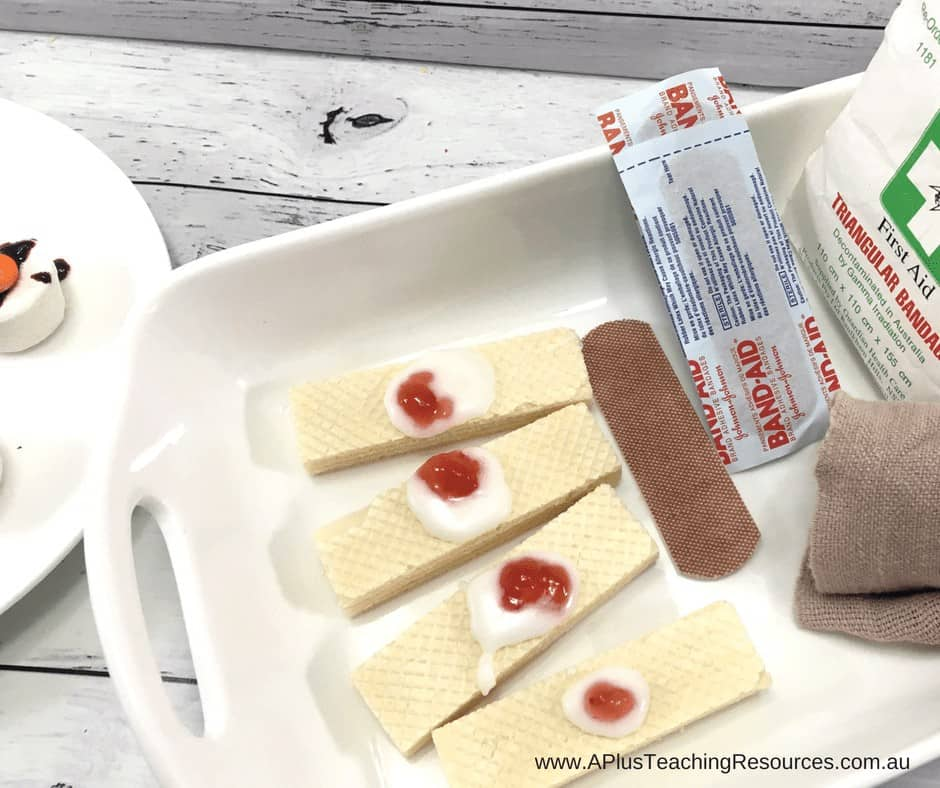 Halloween Recipe For Band Aid Biscuits