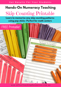 pop stick skip counting free printable