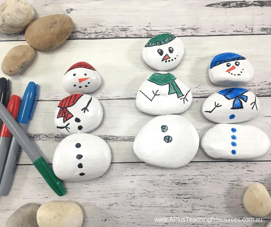 Build a colour matched snowman