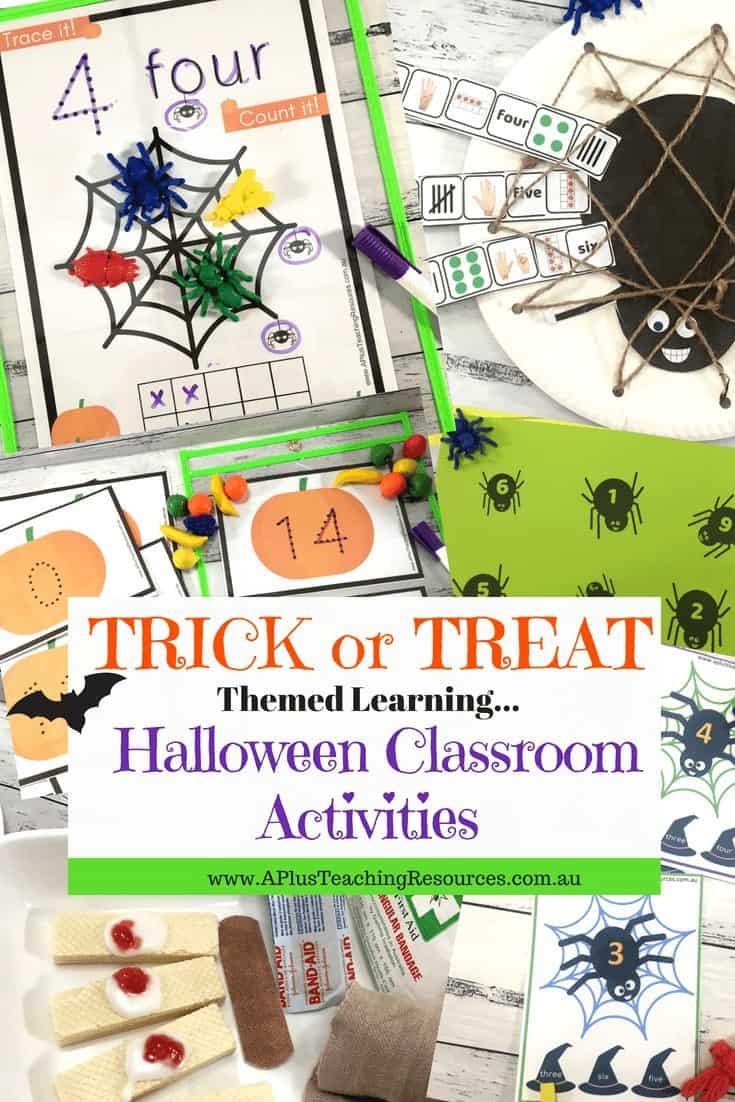 Classroom Activities For Halloween