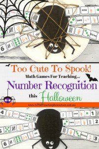 Number Recognition Printables