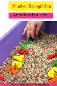 Number Recognition For Preschoolers