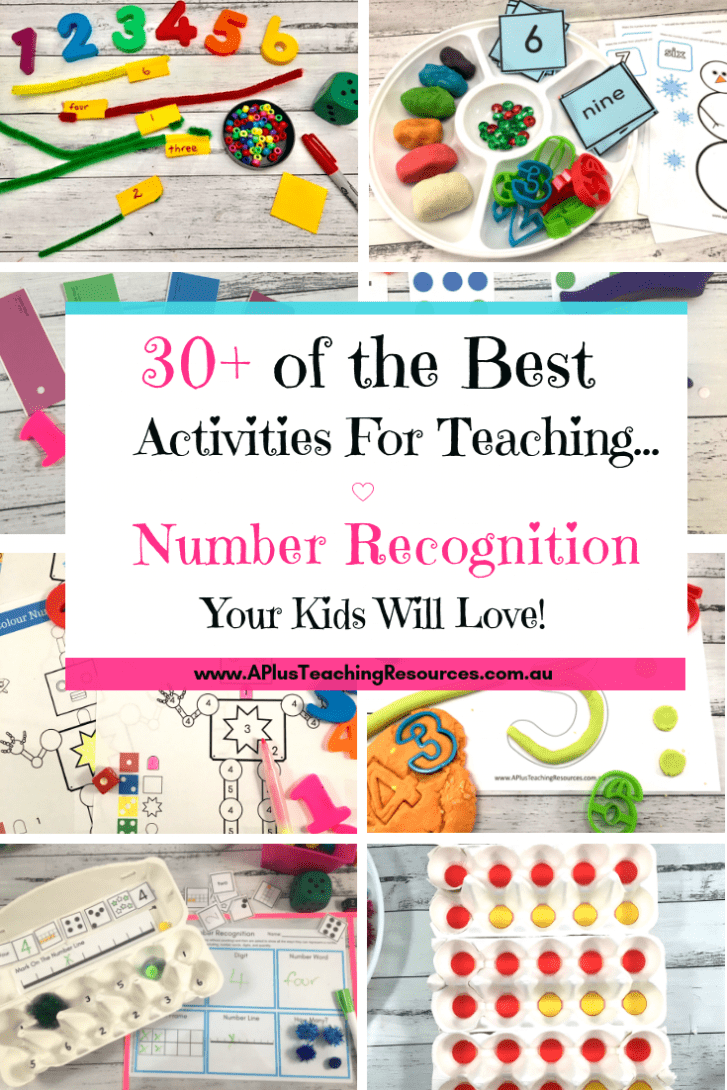 Fun & Free Number Recognition Activities