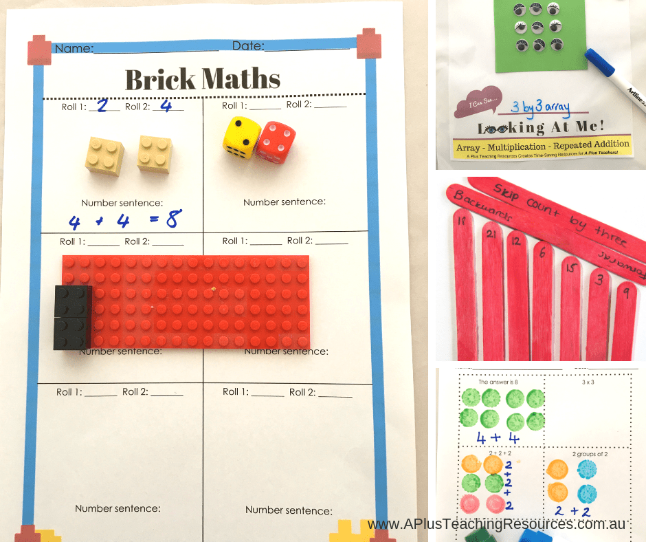 Repeated Addition Ideas