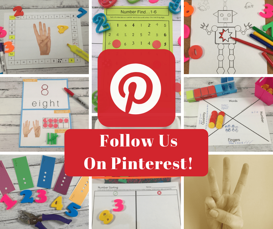 Teaching Number Recognition on Pinterest