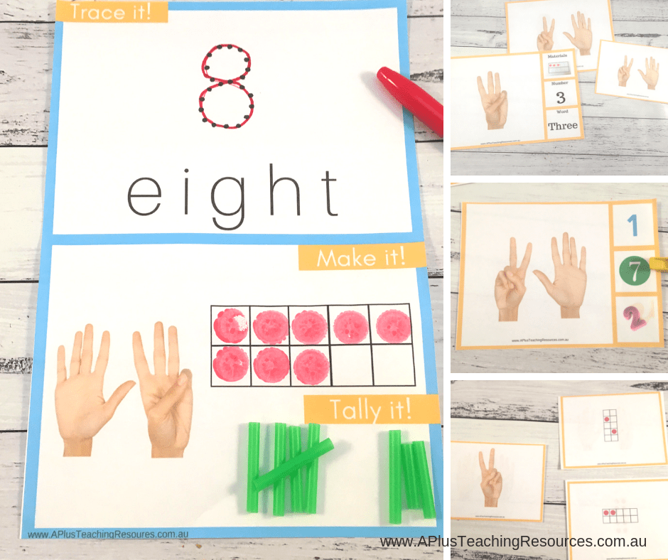Number Recognition ideas